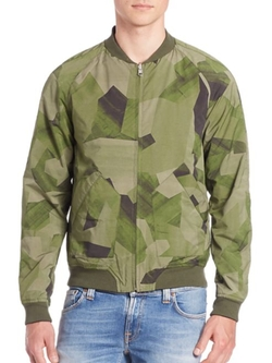 Nudie Jeans  - Brook Camo Jacket