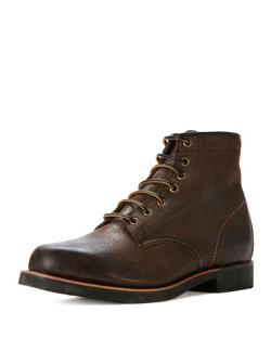 Frye  - Arkansas Mid Boot, Dark Brown
