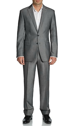 Calvin Klein  - Extreme Slim-Fit Wool-Blend Suit