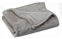 Sofantex  - Luxury Reversible Cashmere Plush Velvet Throw Blanket