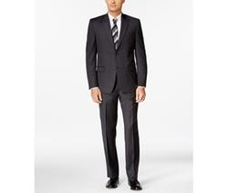Andrew Marc  - Pindot Slim-Fit Suit