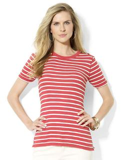 Ralph Lauren - Striped Cotton Crewneck Tee