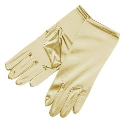 ZaZa Bridal  - Shiny Stretch Satin Dress Gloves