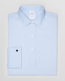 Brooks Brothers - Solid Broadcloth Dress Shirt