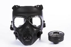 Homejoy - Skull Style Gas Mask for Outdoor War Games - Black