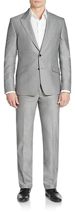 Versace Collection  - Regular-Fit Woven Wool Suit