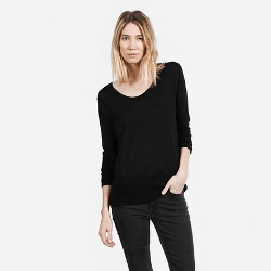 Everlane - The Luxe U-Neck Sweater