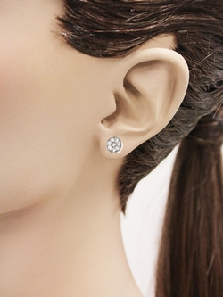 Jennifer Meyer  - Everyday Diamond Circle Studs