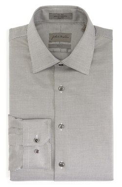 John W. Nordstrom - Trim Fit Non-Iron Texture Dress Shirt