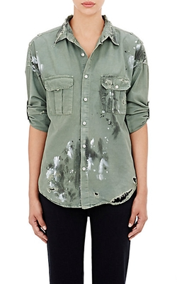 NSF - Paint-Splatter Johnna Shirt