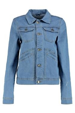 BooHoo Blue - Boyfriend Denim Jacket