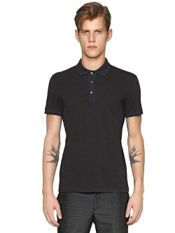 Emporio Armani - Cotton Piqué Polo Shirt