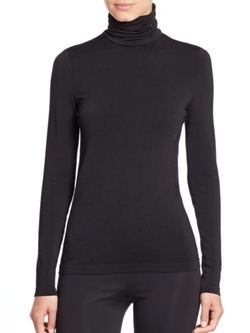 Wolford  - Luxe Pullover Turtleneck Top