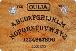 Rikki Knight LLC - Ouija Board Large Tempered Glass Cutting Board