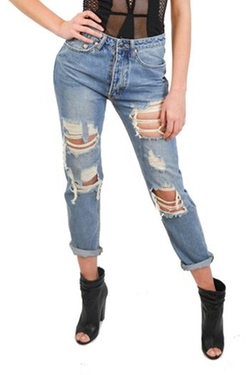 Alana Ferr Atelier - Ripped Up Jeans