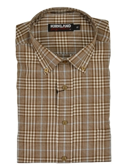 Kirkland Signature - Tailored Fit Twill Sport Shirt