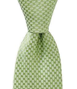 Ike Behar - Mini Rectangle Silk Tie
