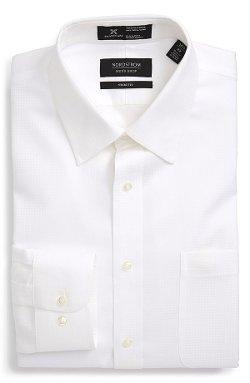 Nordstrom  - Smartcare Trim Fit Check Dress Shirt