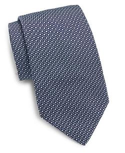 Saks Fifth Avenue  - Mantero Dot Silk Tie