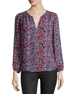 Joie	 - Odelette B Floral-Print Top