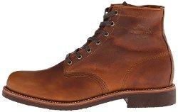 Chippewa - Round Toe Lace-Up Boots