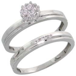 Gabriella Gold - Diamond Engagement Ring Set