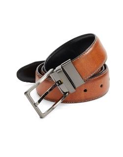 Black Brown 1826 - Reversible Faux Leather Belt
