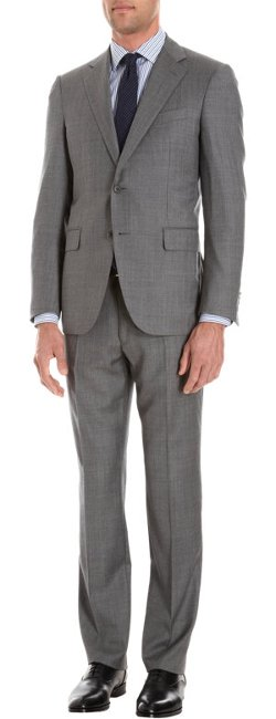 Barneys New York  - Lotus Lightweight Worsted Wool Suit