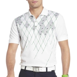 Izod - Golf Argyle-Print Polo Shirt