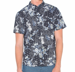 Native Youth - Floral Sashiko Shirt