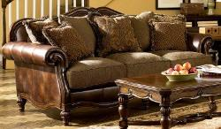 Famous Brand Furniture - Signature Design by Ashley Claremore Antique Sofa