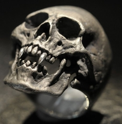 Handmade - Custom Skull Rings