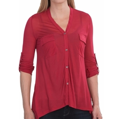 Sierra Trading Post - V-Neck Modal Knit Shirt