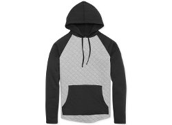 Ambig  - Quilted Fleece Hoodie