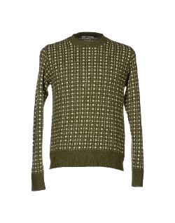 Gas  - Two-Tone Pattern Sweater