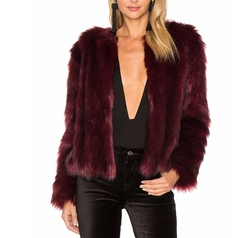 Cupcakes And Cashmere - Snyder Faux Fur Jacket