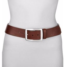 Neiman Marcus - Contour Leather Jean Belt