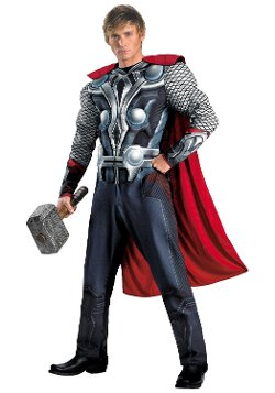 Disguise Costumes - Marvel Classic Avengers Thor Costume