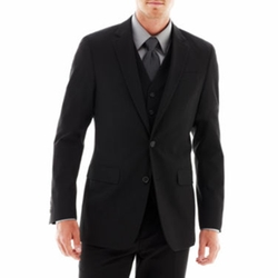 JF J. Ferrar - Stretch Gabardine Suit Jacket