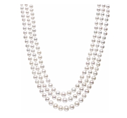 Belle De Mer - Cultured Freshwater Pearl Three-Strand Necklace