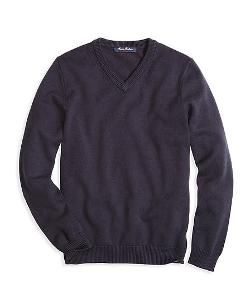 Brooks Brothers - V-Neck Sweater