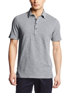 Haggar - Textured Solid Polo Knit Shirt