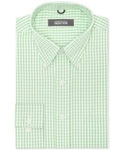 Kenneth Cole Reaction  - Non-Iron Check Dress Shirt