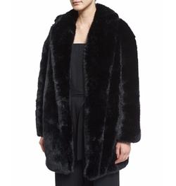 McQ Alexander McQueen - Faux-Fur Coat
