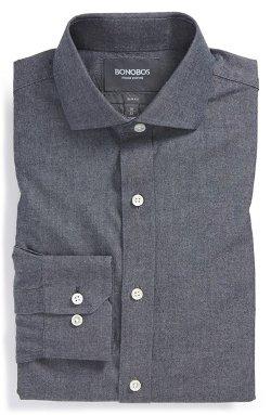 Bonobos - Slim Fit Chambray Dress Shirt