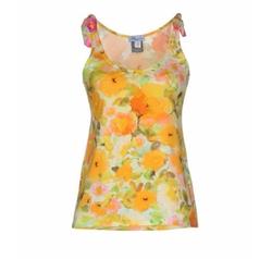 Blumarine Beachwear - Floral Tank Top