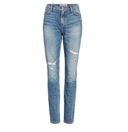 Agolde - Sophie Distressed High Waist Skinny Jeans