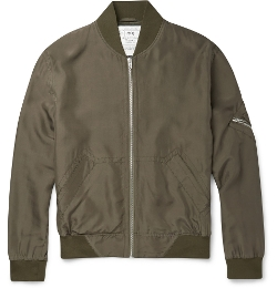 McQ Alexander McQueen - Silk Bomber Jacket