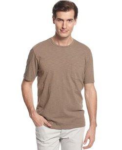 Tasso Elba Island  - Short Sleeve Crew Neck Pocket T-Shirt