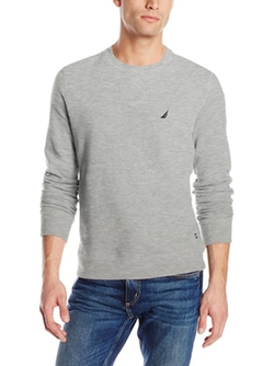 Nautica  - Fleece Crew Neck Sweatshirt